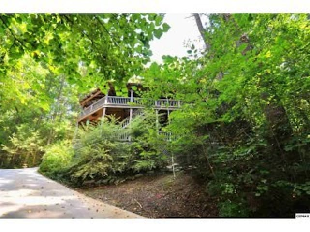 "Dry Valley ""Tree House"" - Townsend - Casa"