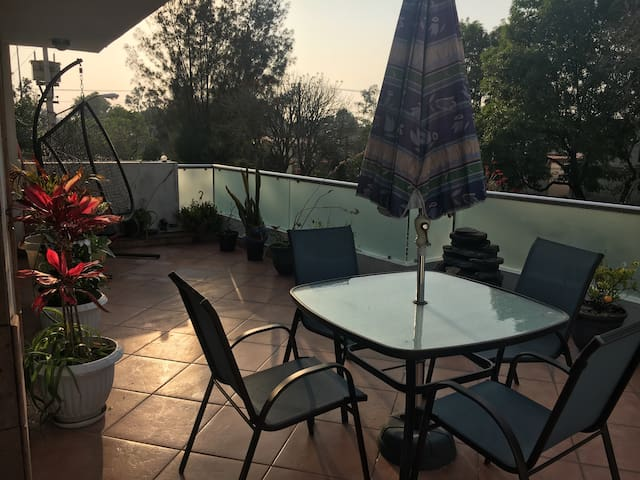 2nd Floor Apartment w sunny terrace - Mexico City - Apartment