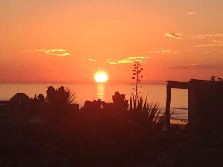 Cosy villa juste devant l'océan Vue mer 180 degré