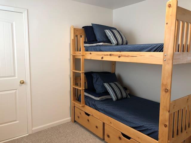 Bedroom 3. Twin Bunk Beds