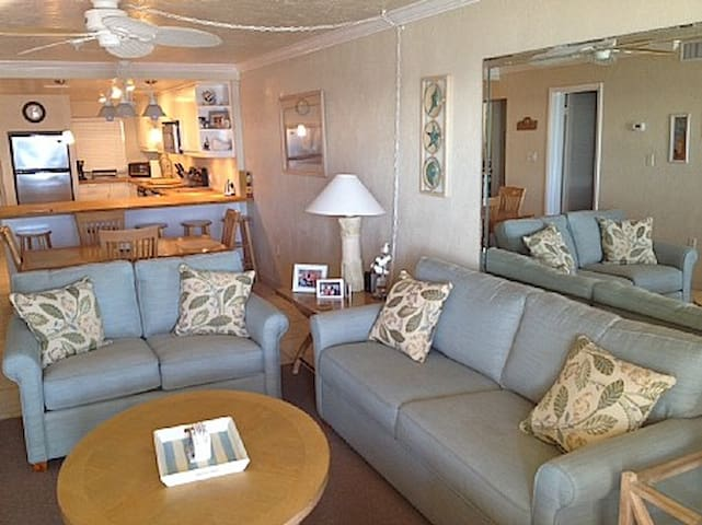Oceanfront Corner Condo with Fab Views - 312