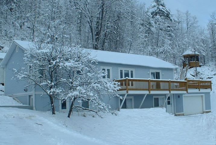 Chalet Blue full house d es - Lac-Sainte-Marie - Chalé