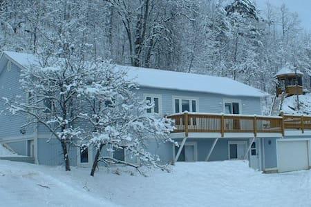 Chalet Blue full house - Lac-Sainte-Marie
