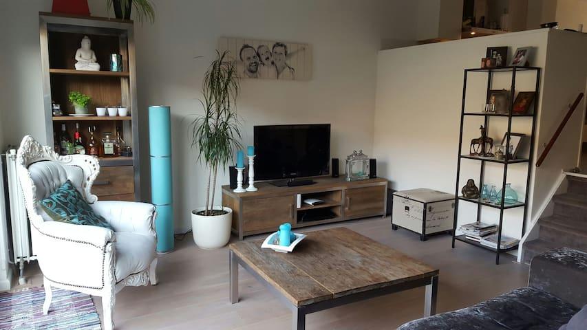 Spacious, split level home, garden - อัมสเตอร์ดัม - บ้าน