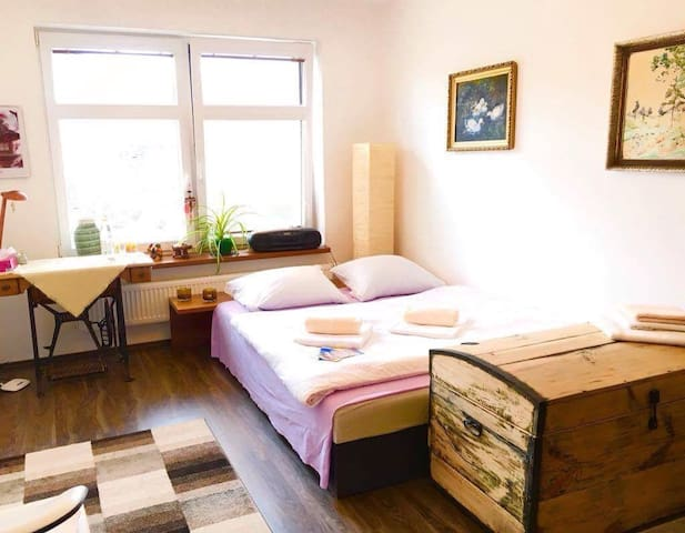 room in Villa+garden in Kyjov TOP