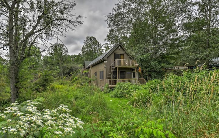 Beautiful North Bunk House on nature Preserve
