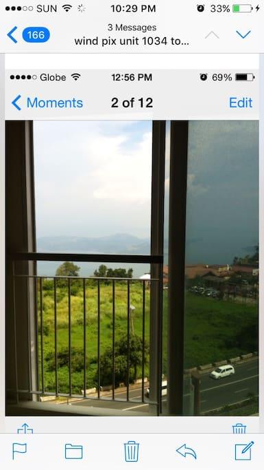 Facing taal  lake view