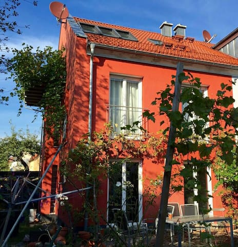 Ingolstadt-Zentrum Doppelhaushälfte für 4 Personen - Ingolstadt - Huis