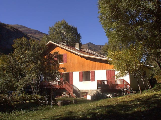 Duplex in typical Chalet in Valloire, savoie - Valloire - Apartment