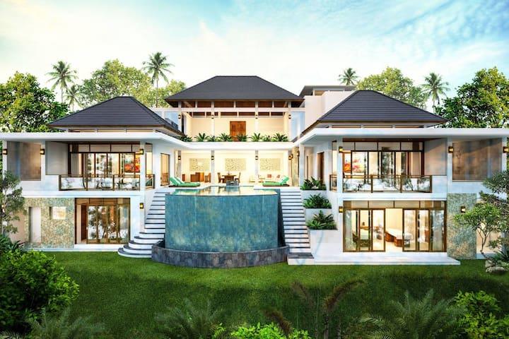 Luxury room 'Agung' in luxury villa, Ubud, Bali.