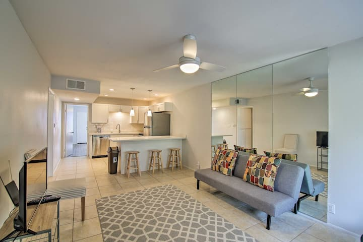 NEW! 2nd-Floor Mission Lakes CC Condo w/ Mtn Views