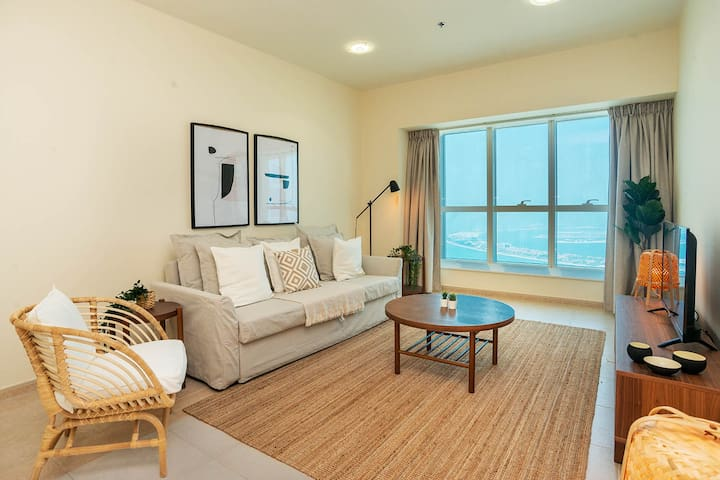 High Floor 2 Bedroom | Sea View | Elite Residence