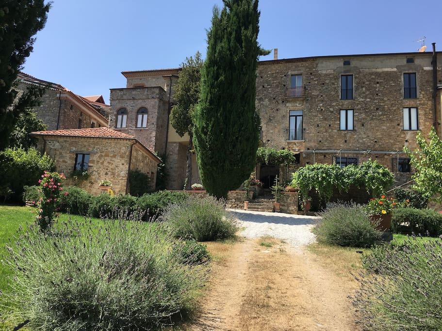 La Casa di Stio: view from the garden