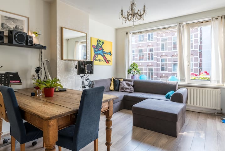Great stay for two in vibrant east Amsterdam