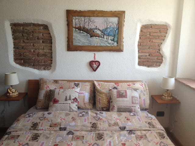 Studio overlooking the Dolomites - san gregorio nelle alpi - Appartement