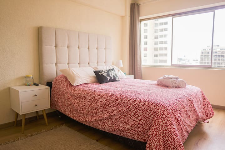 Cozy aparment in Miraflores, BEST location!