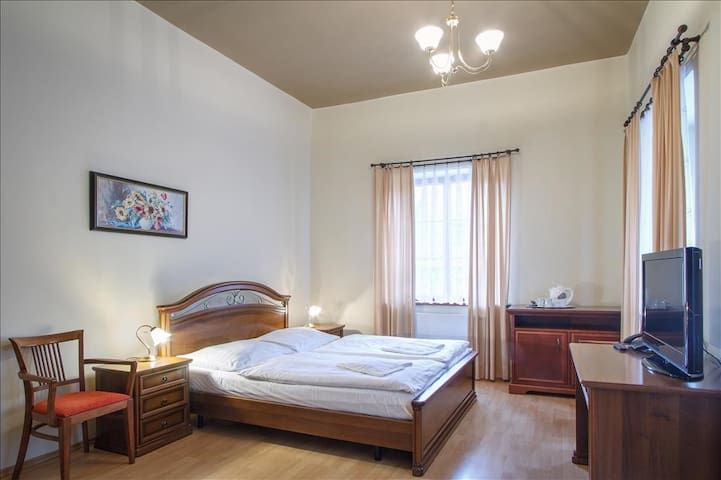 Room for two under Prague Castle