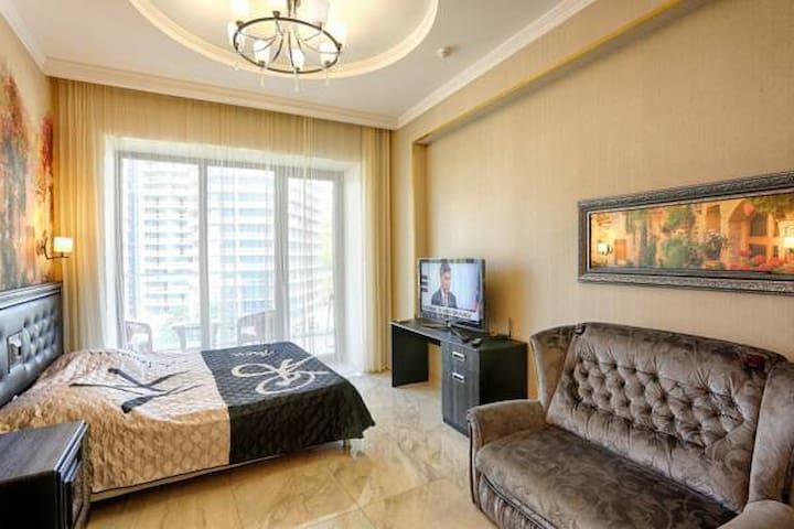 Апартаменты-студио на Курортном - Sochi - Appartamento con trattamento alberghiero