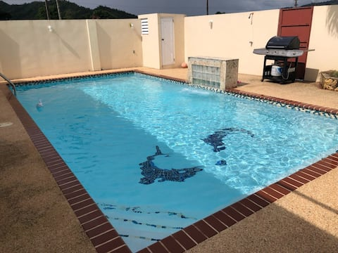 House with private pool, 30 minutes from San Juan