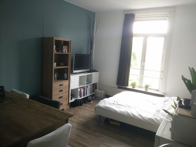 Nette, ruime kamer dichtbij de  st anna en wedren - Nijmegen - House