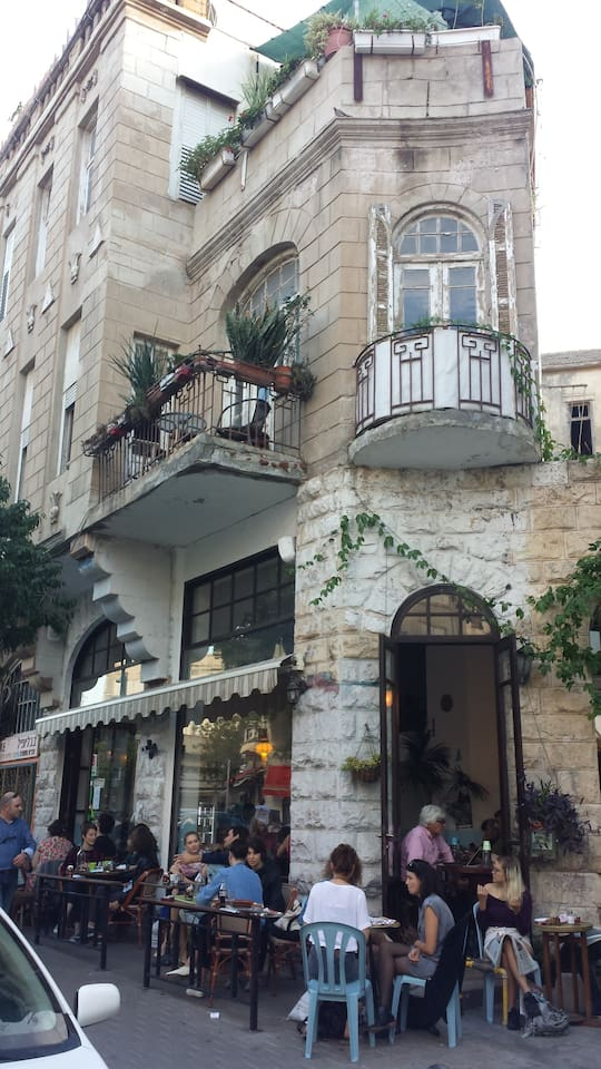 Sheleg Caffee-The best Coffee Shop in TLV just under the apartment