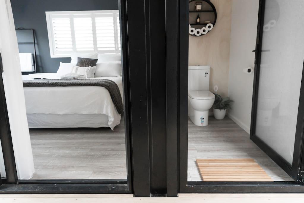 Studio and separate toilet