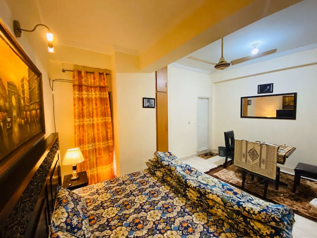 Fully furnished 1BHK/ Private.