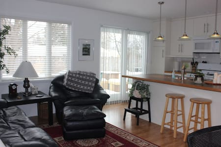 New duplex apartment between UofM and EMU Campuses - Ypsilanti - Apartament