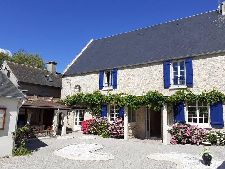 Gîte à Isigny-sur-mer alliant charme et calme