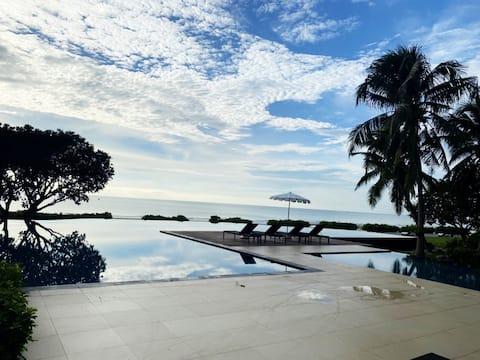 2BR Cha am Luxury Beachfront Baan Chaan Talay