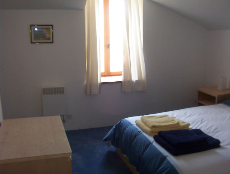 One of the double ensuite rooms