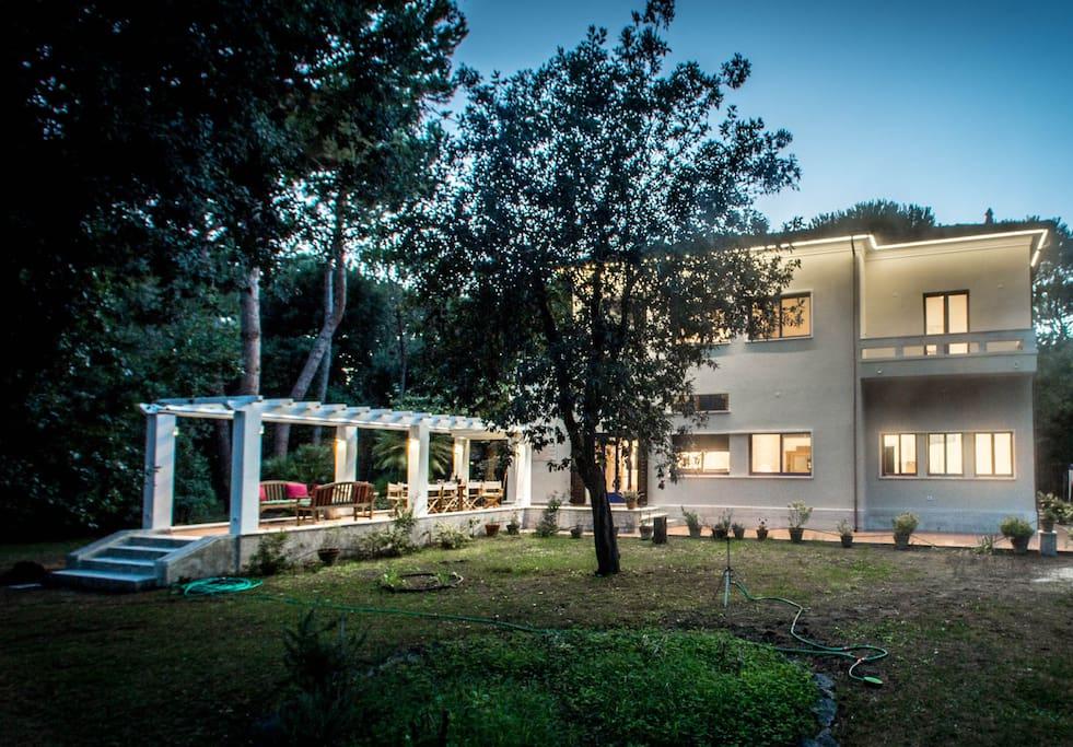Villa from via Pistoia