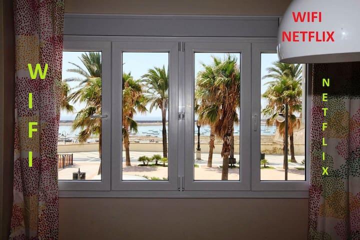 VISTAMAR CADIZ BEACH AND HISTORICAL CENTER wifi