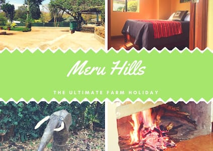 Farm Stay on footslopes of Mount Kenya