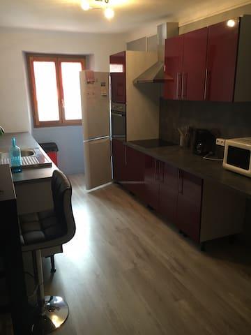 Appartement Montagne - La Condamine-Châtelard - Lejlighed