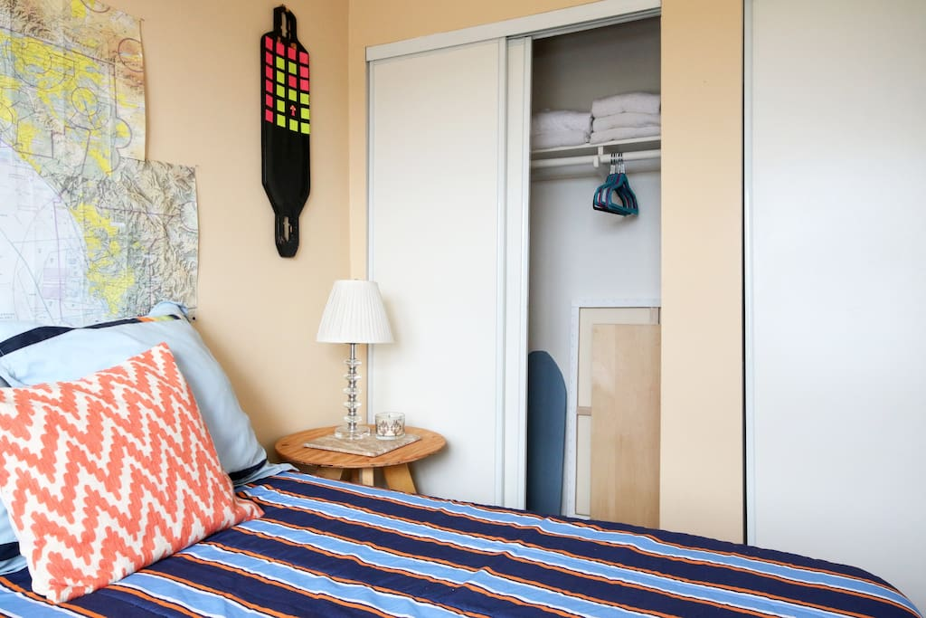 Your room and closet space