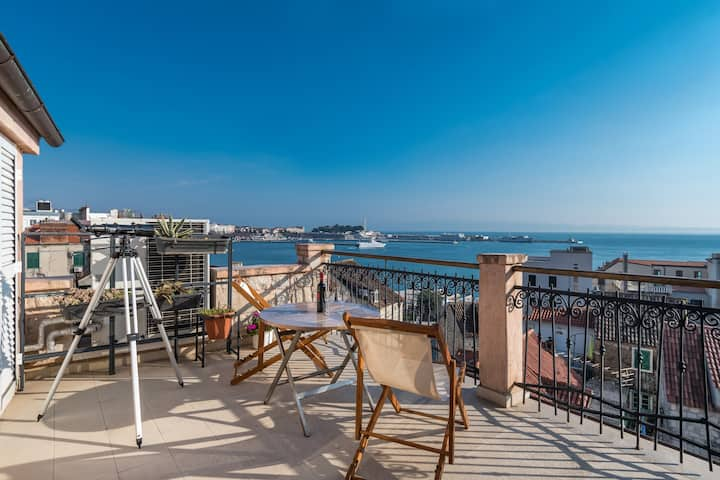 Penthouse Apartment in Split - Breathtaking views