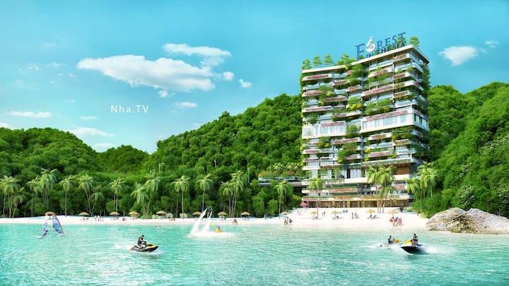 Flamingo Cat Ba Beach Resort*Breakfast* 1BR*View