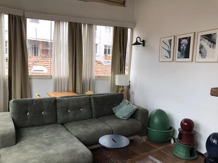 View of Istanbul, Loft apartment at Taksim