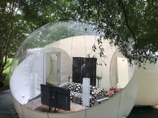 Sacred Backyard Bubble