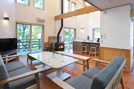 N-Cabin Aone/森の別荘地の静かな一軒家