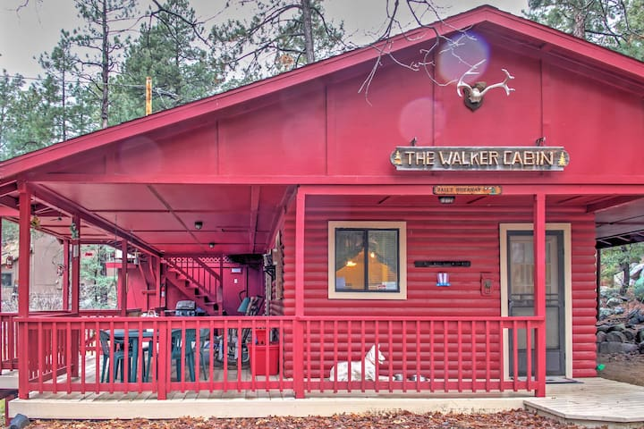 NEW! Relaxing 2BR Prescott Cabin in the Mountains!