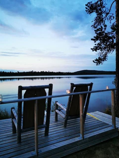 Мирна вила край езерото ( nr1 място за Аурора)