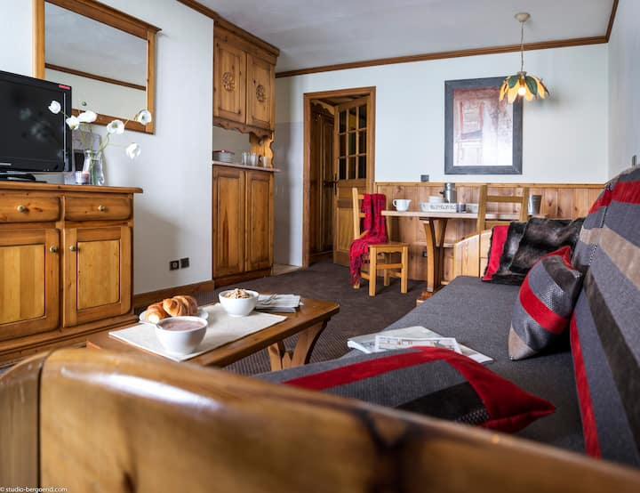 Appartement 4 personnes deux chambres Ski-in/Out