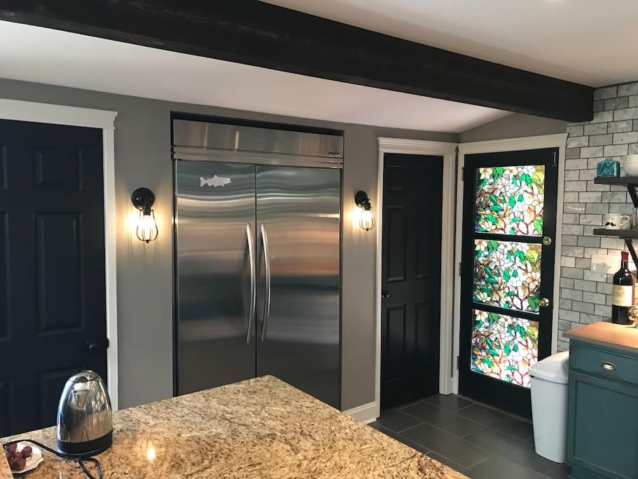 Fridge and pantry