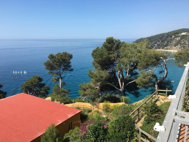 Apartment in the Costa Brava with nice seaviews.