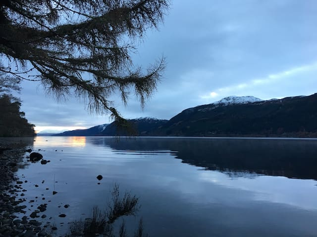 Loch Ness retreat,king size bedroom - Foyers - Talo
