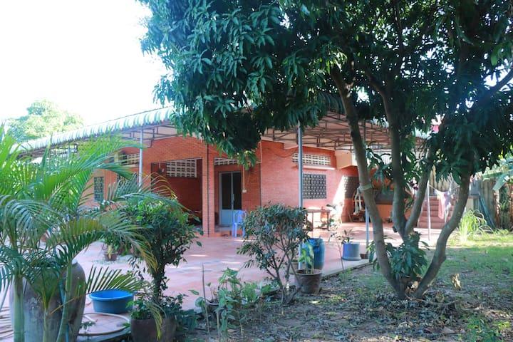 2 Bedroom House in garden setting near Phnom Penh