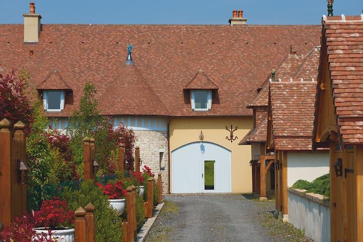 Wunderschöne Villa in der Normandie mit privater Terrasse