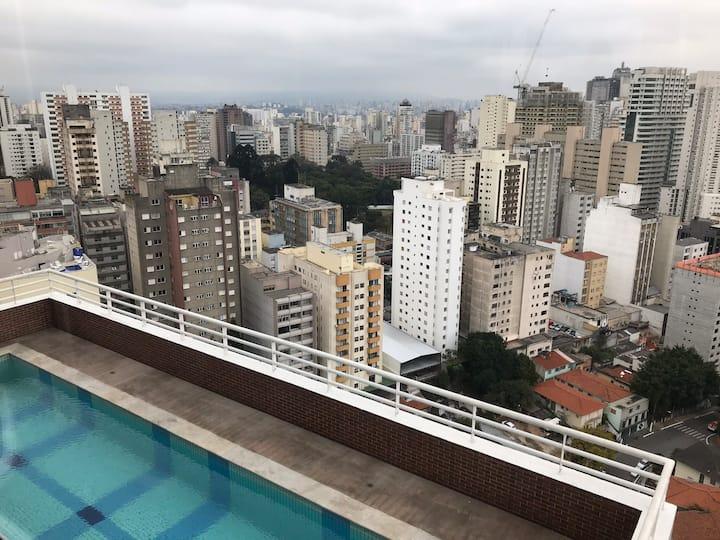 Loft moderno completo - próx. Av. Paulista